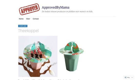 Approved by mama