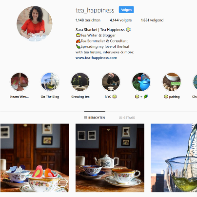 Tea Happiness Instapost 12-2018