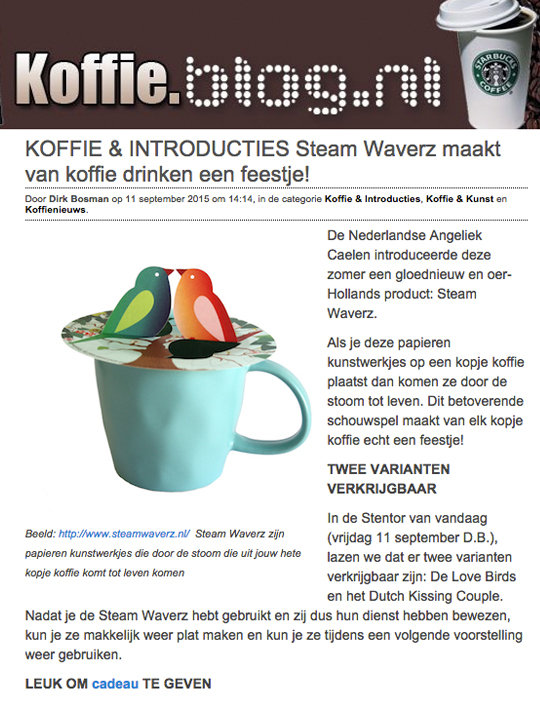 koffie blog 09-2015