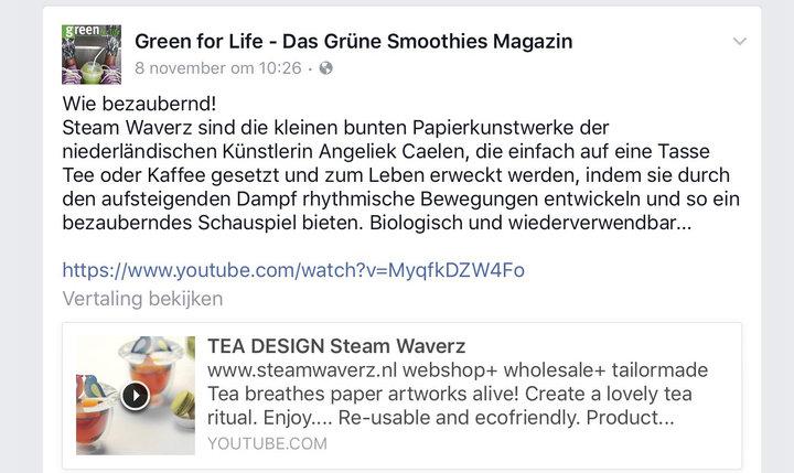 Green for Life Duitsland