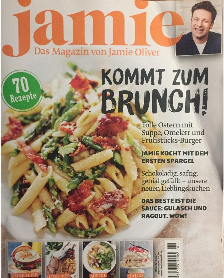 Jamie Oliver magazine Duitsland 03-2017