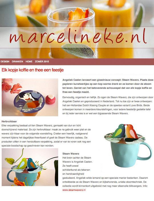 weblog Marcelineke