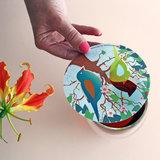 Tea Birds; BFF gift, Steam Waverz. Theeaccessoire. tea moments, high tea uitnodiging, theebedankje