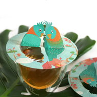 Tea Birds Steam Waverz. Theeaccessoire. tea moments, high tea uitnodiging, theebedankje